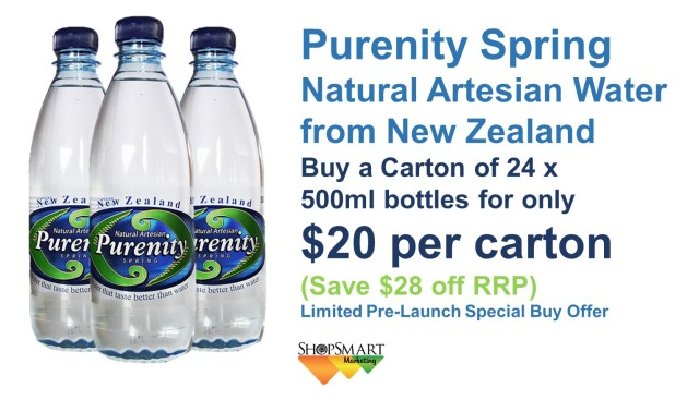 Purenity Spring $20 Offer